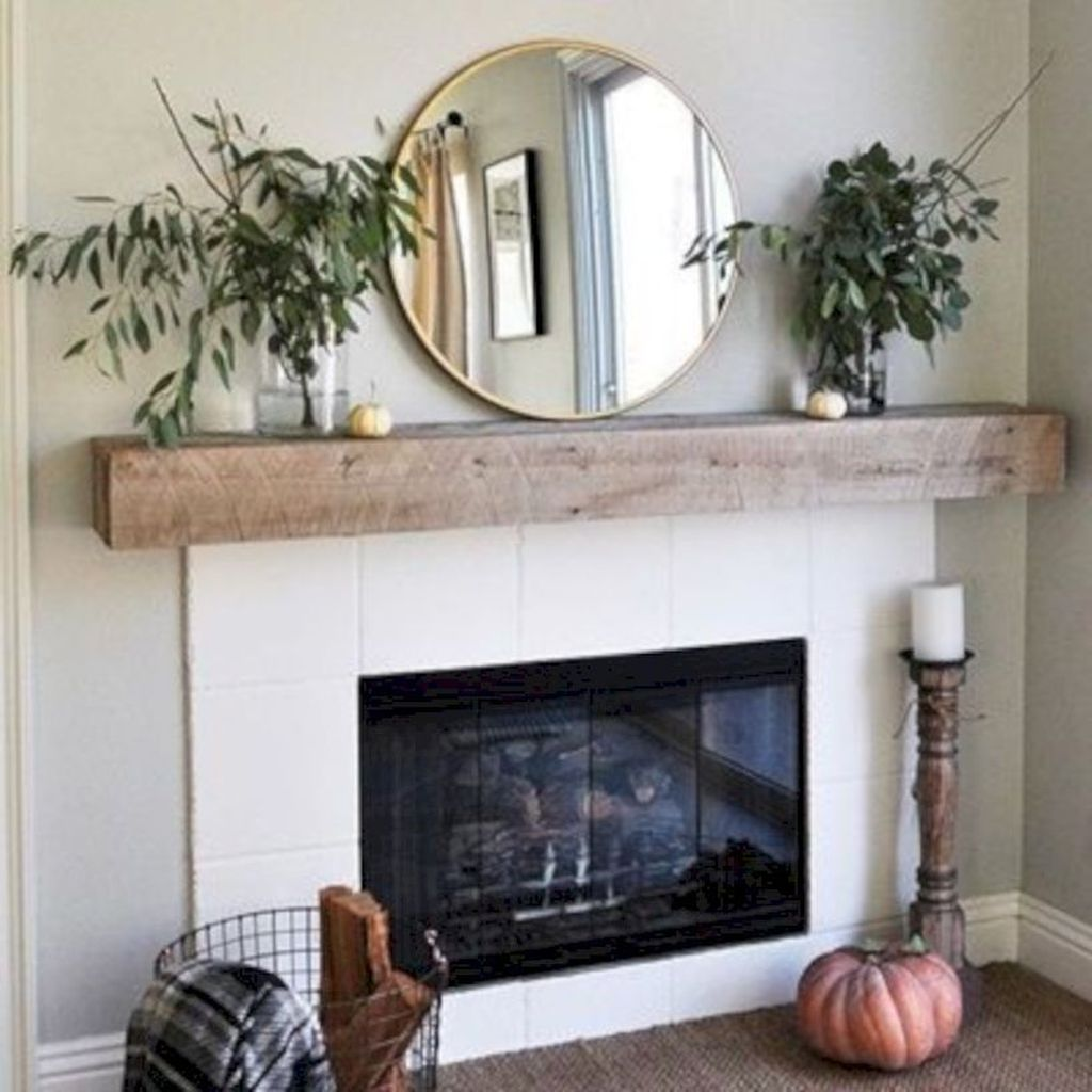 Beautiful Modern Farmhouse Fireplace Ideas You Must Have 05