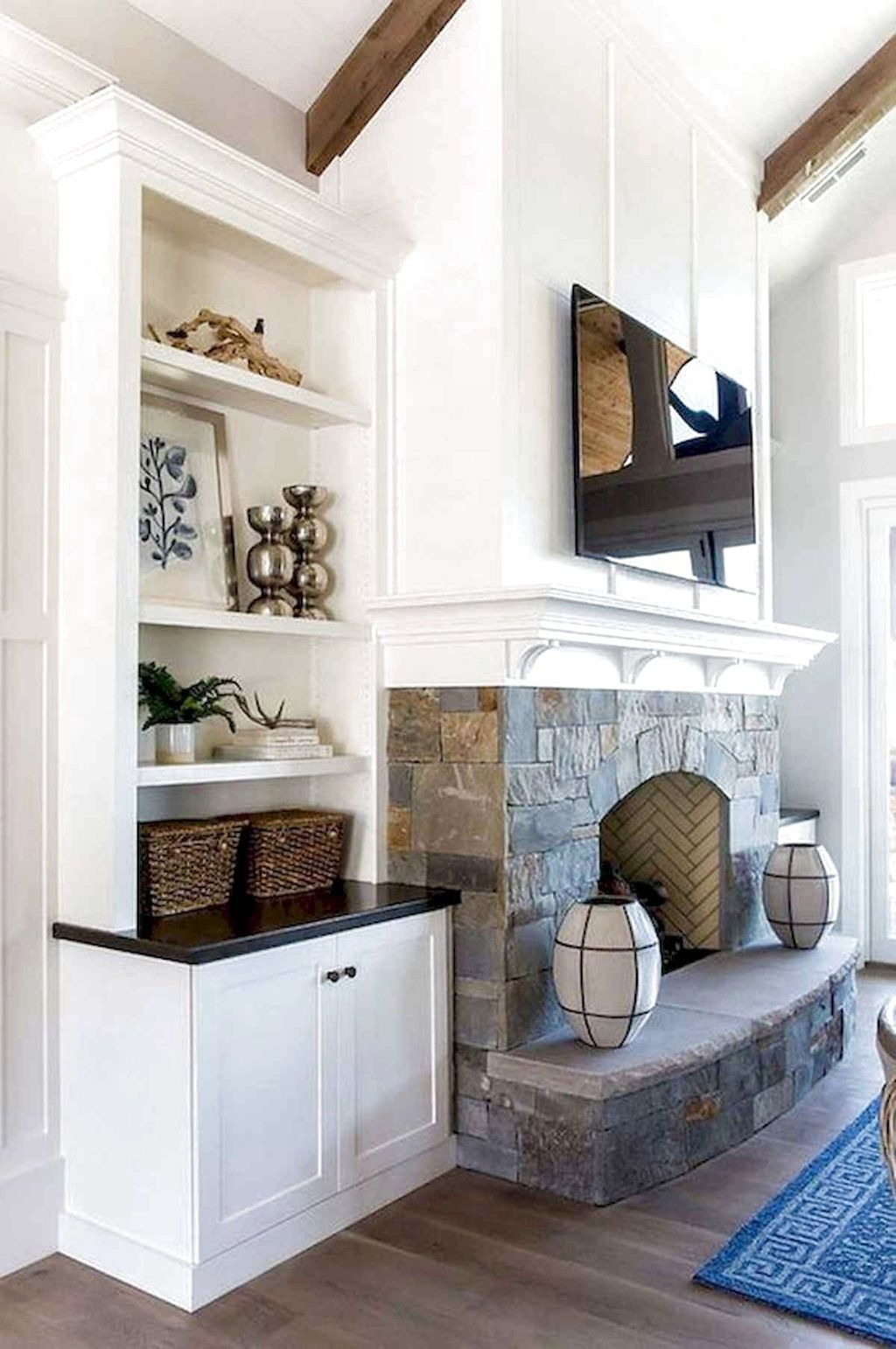 Beautiful Modern Farmhouse Fireplace Ideas You Must Have 14