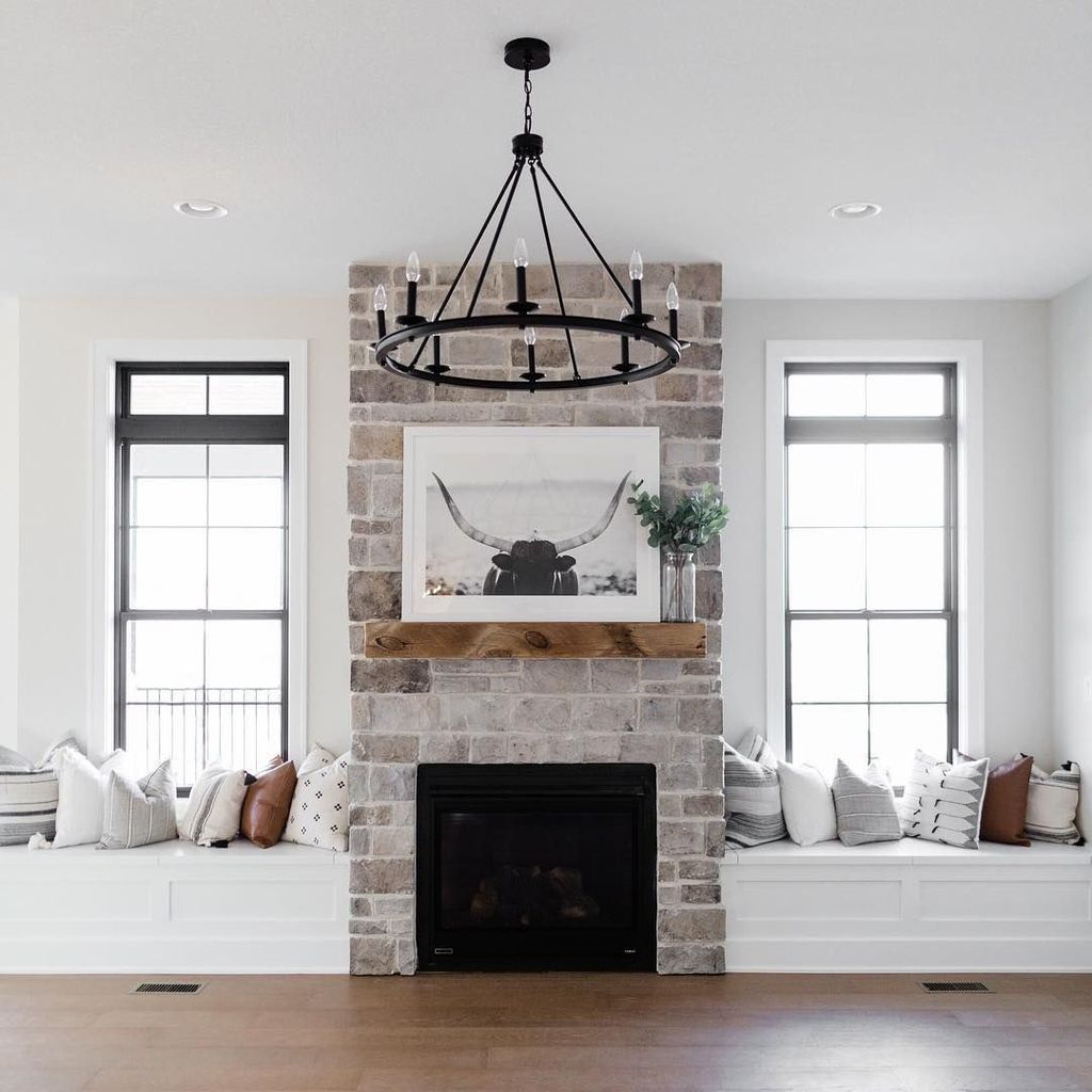 Beautiful Modern Farmhouse Fireplace Ideas You Must Have 25