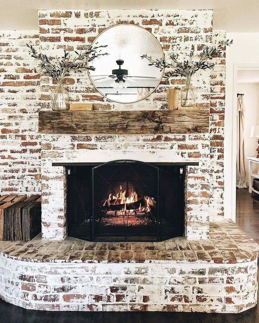 Beautiful Modern Farmhouse Fireplace Ideas You Must Have 28