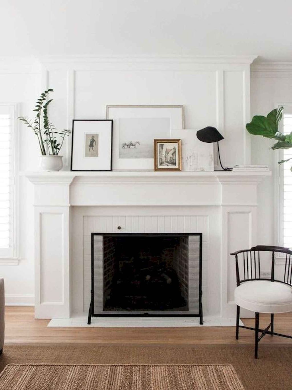 Beautiful Modern Farmhouse Fireplace Ideas You Must Have 32