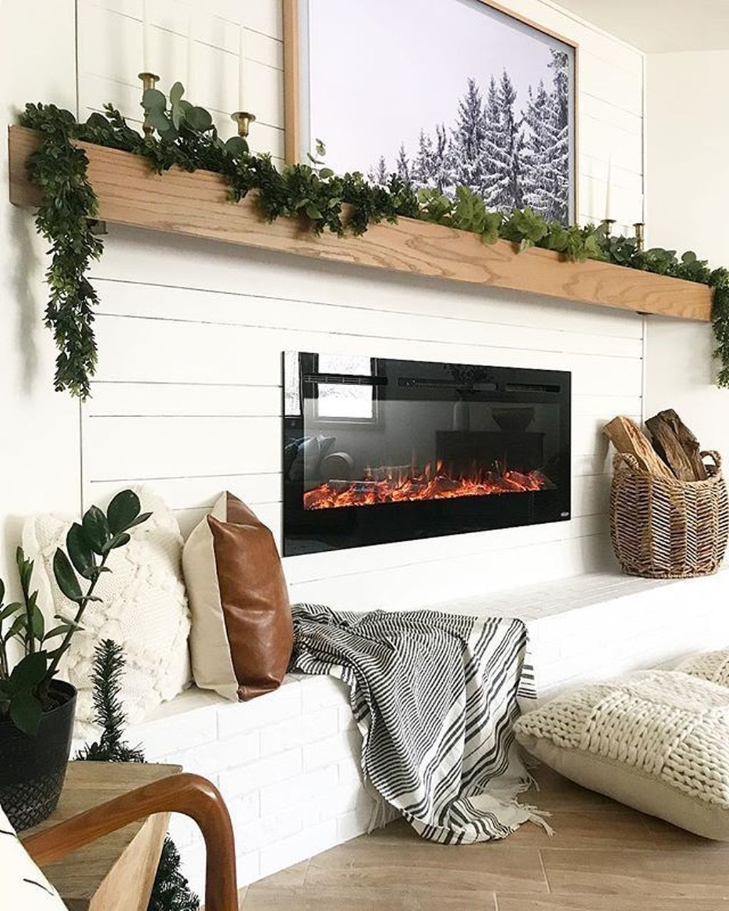 Beautiful Modern Farmhouse Fireplace Ideas You Must Have 35