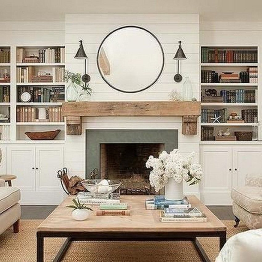 Beautiful Modern Farmhouse Fireplace Ideas You Must Have 38