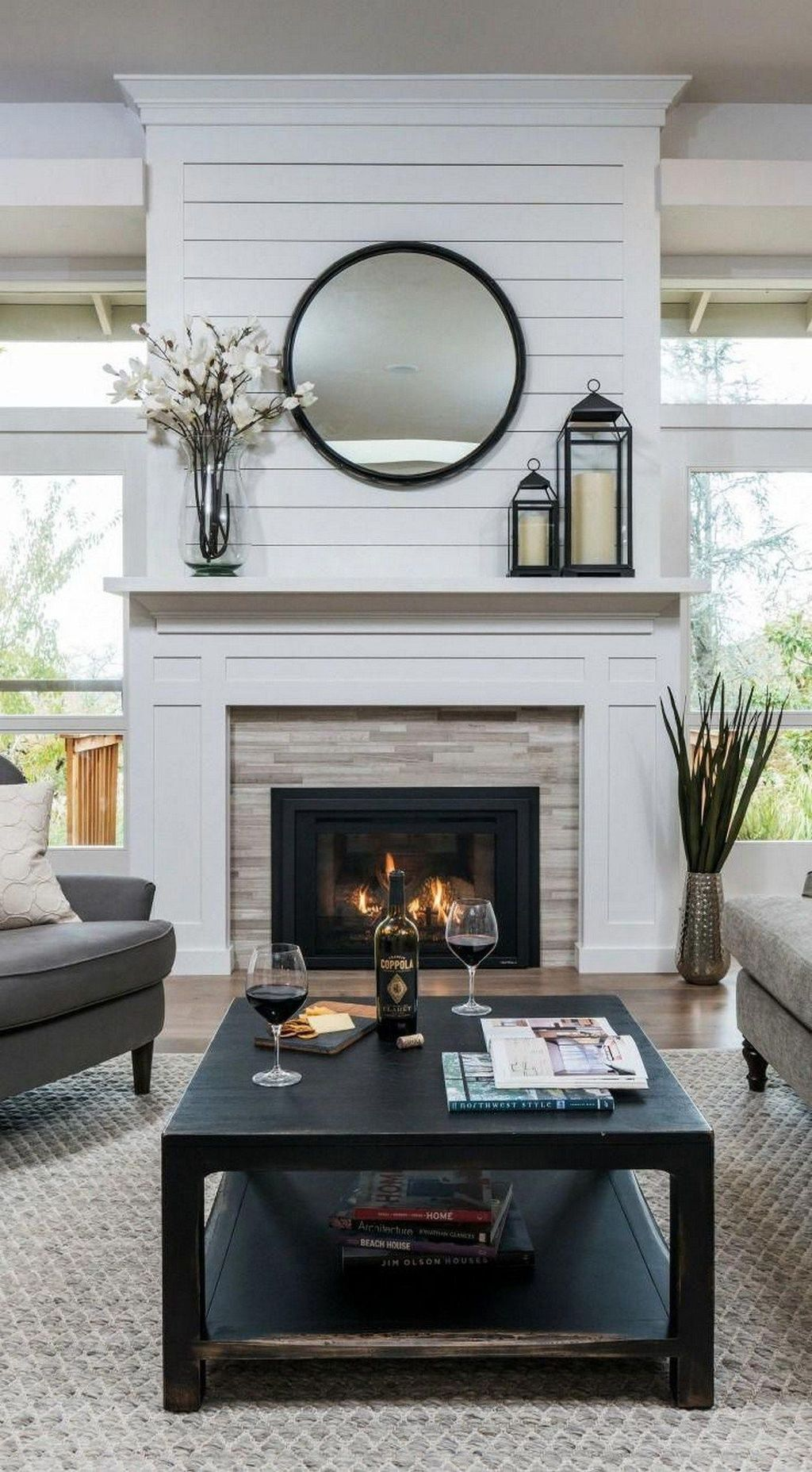 Beautiful Modern Farmhouse Fireplace Ideas You Must Have 39