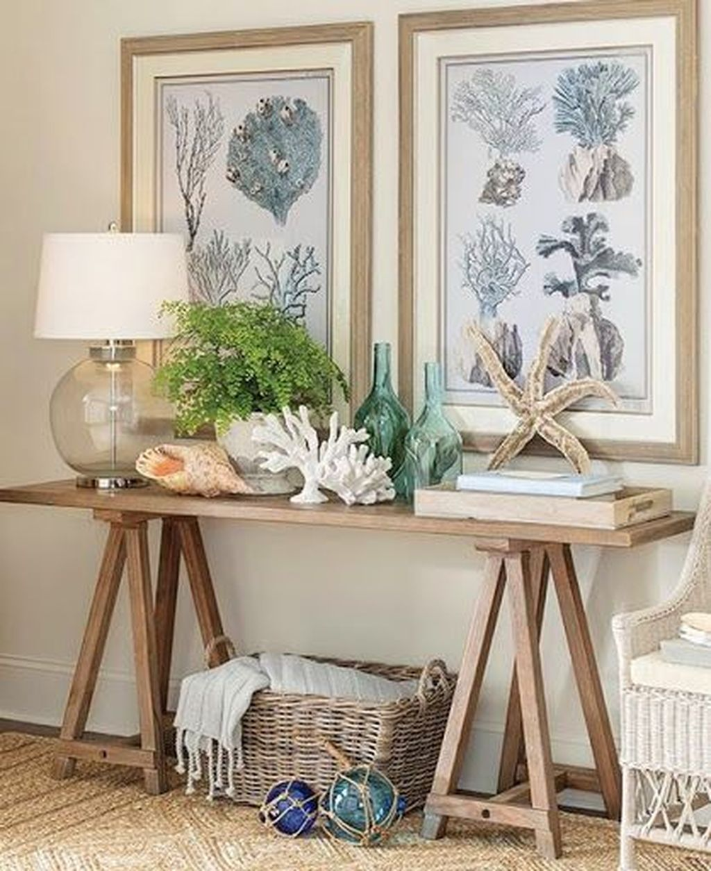 Inspiring Nautical Wall Decor Ideas For Living Room 12