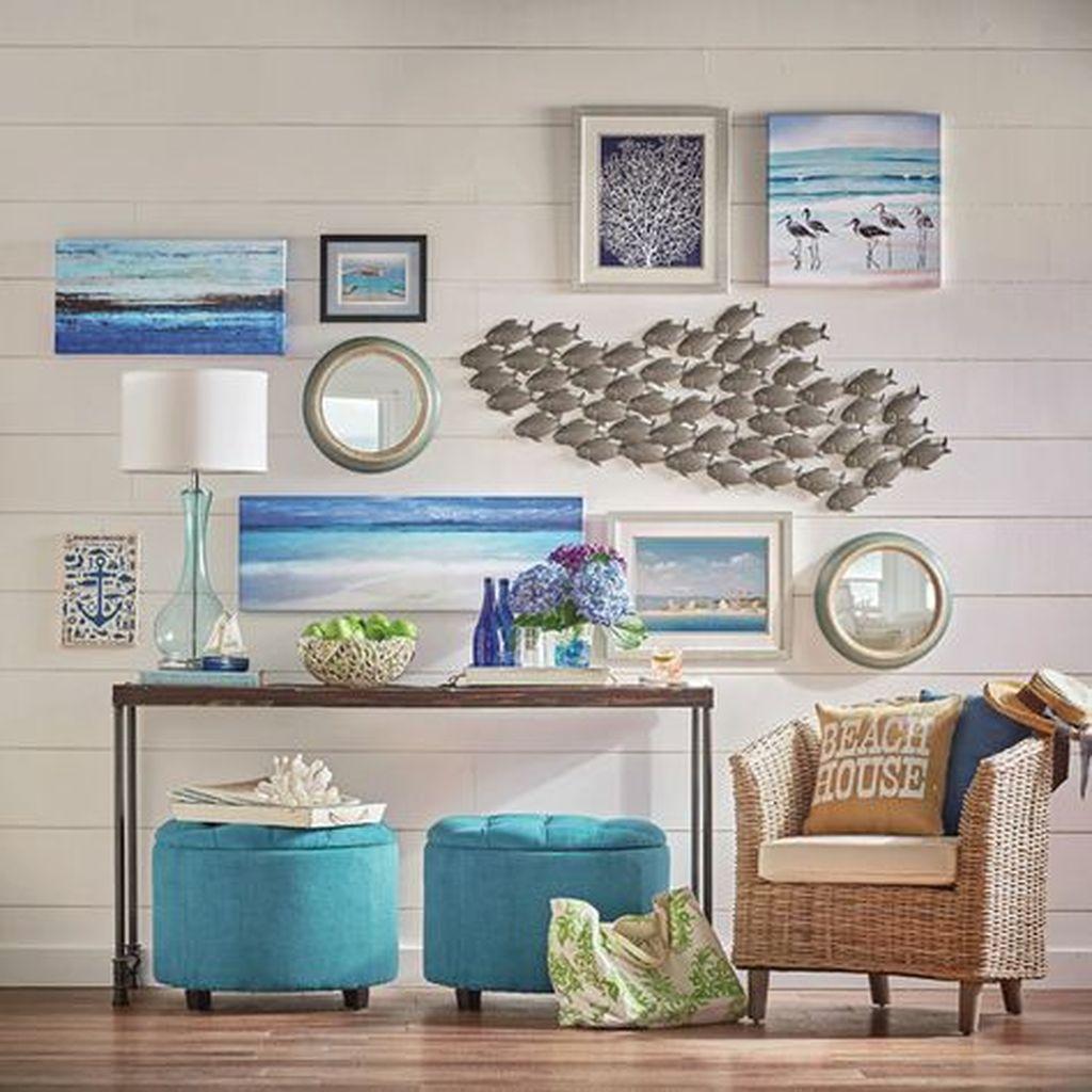 Inspiring Nautical Wall Decor Ideas For Living Room 17