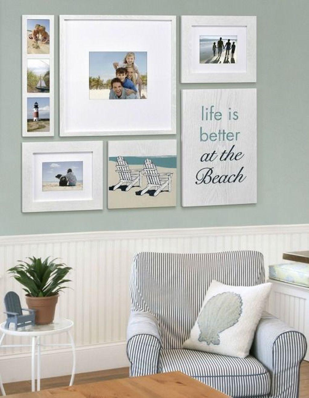 Inspiring Nautical Wall Decor Ideas For Living Room 18