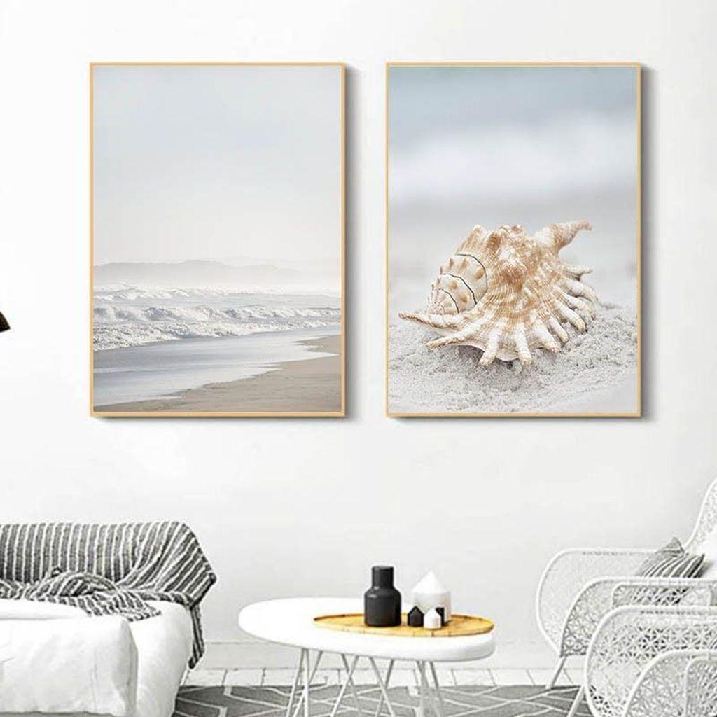 Inspiring Nautical Wall Decor Ideas For Living Room 34