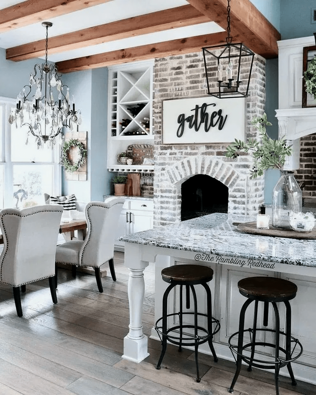 Popular Traditional Kitchen Ideas With Farmhouse Style 12