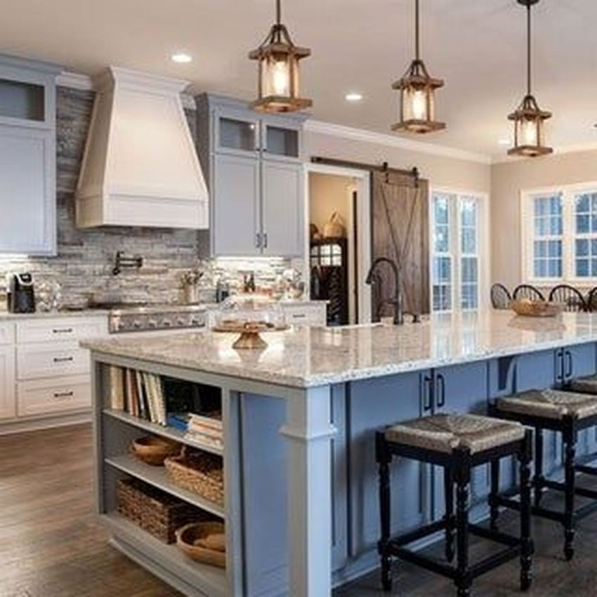 Popular Traditional Kitchen Ideas With Farmhouse Style 38