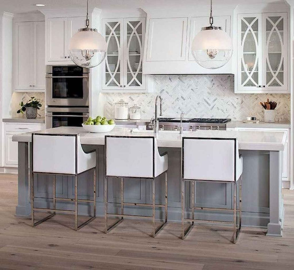Stunning Grey And White Kitchen Color Ideas Match With Any Kitchen Design 01