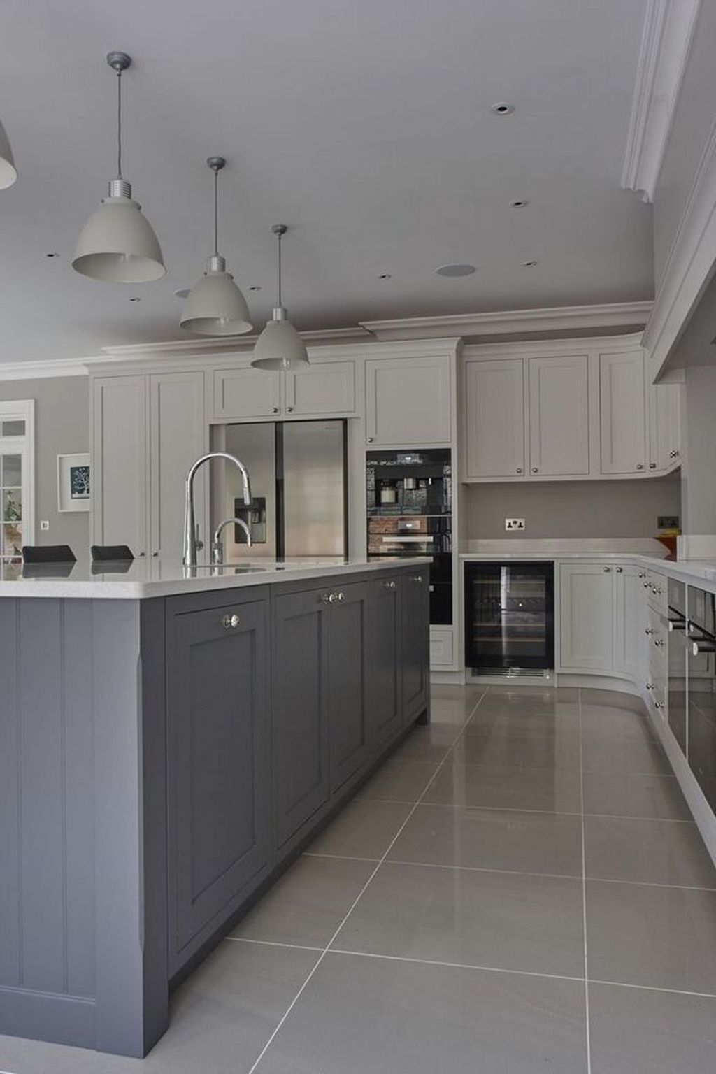 Stunning Grey And White Kitchen Color Ideas Match With Any Kitchen Design 11