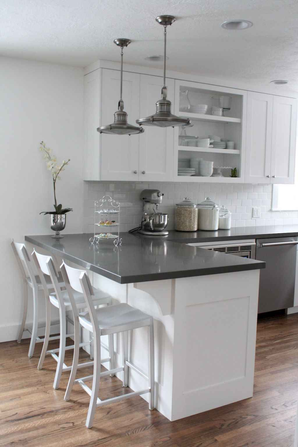 Stunning Grey And White Kitchen Color Ideas Match With Any Kitchen Design 24