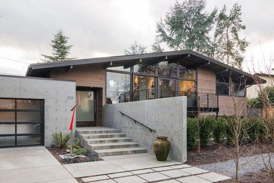 Admirable Mid Century Modern House Design Ideas 05