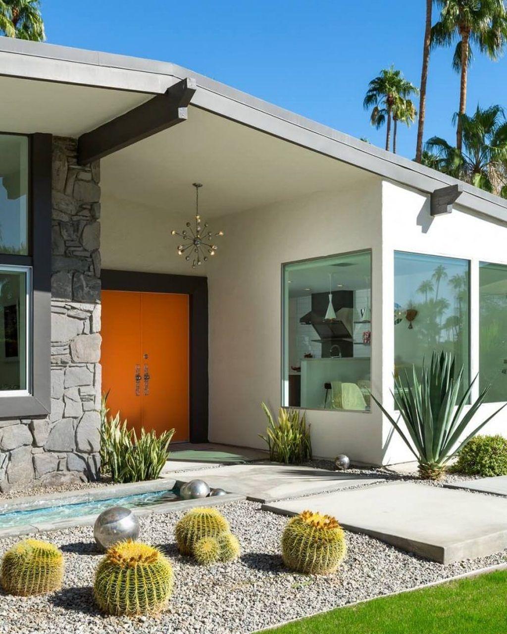 Admirable Mid Century Modern House Design Ideas 24