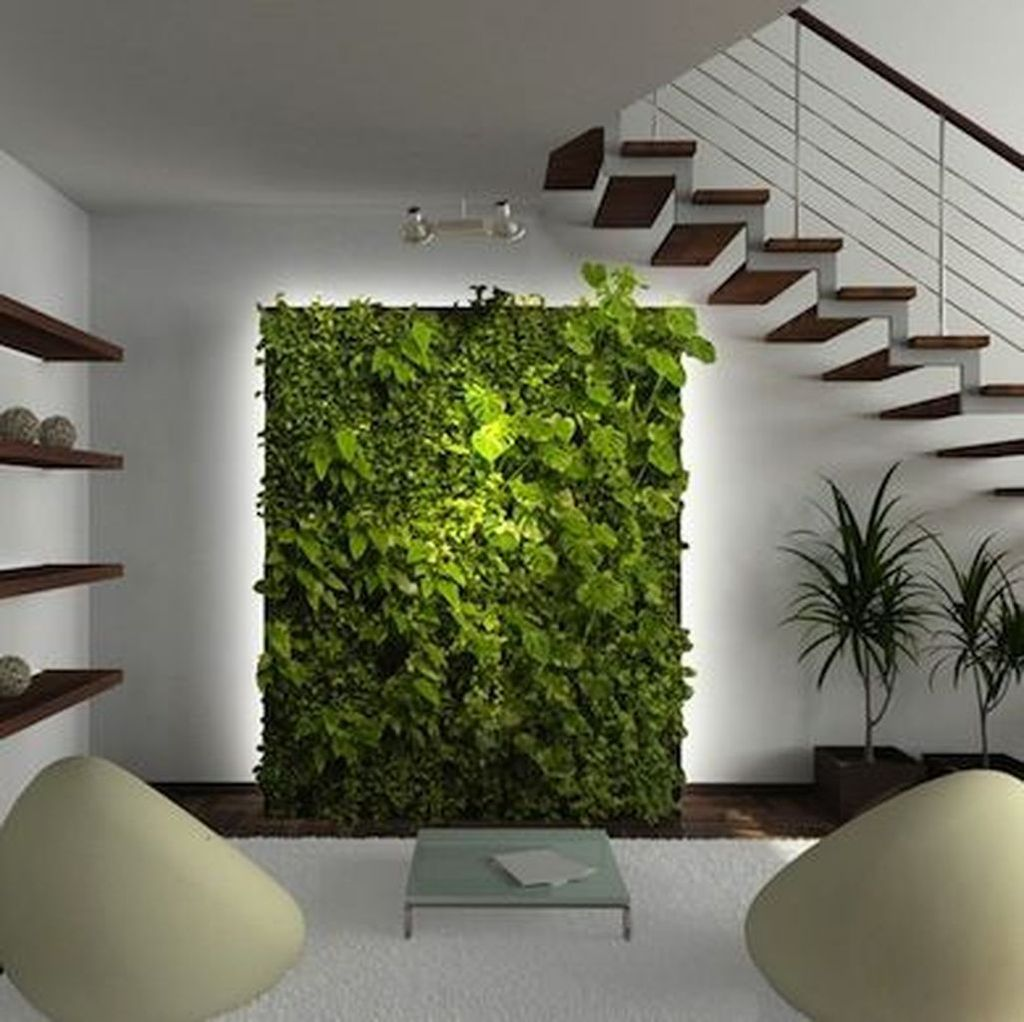 Amazing Living Wall Indoor Decoration Ideas 05