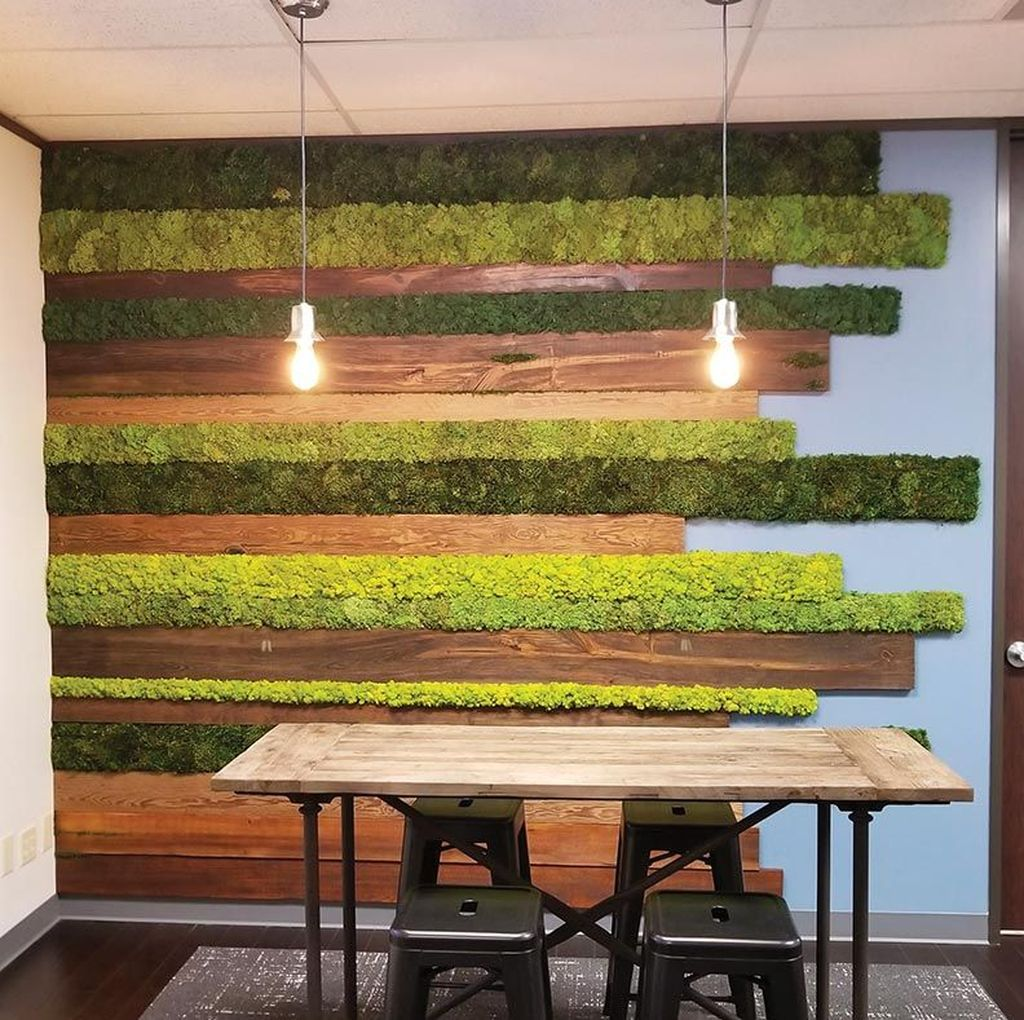 Amazing Living Wall Indoor Decoration Ideas 22