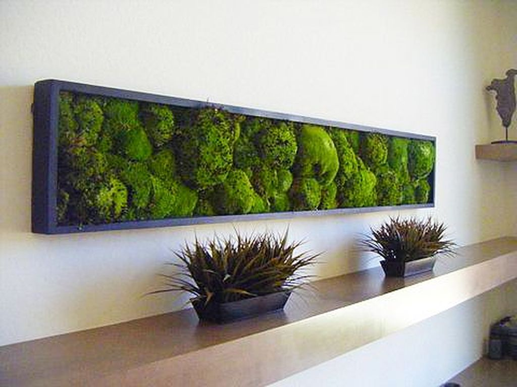 Amazing Living Wall Indoor Decoration Ideas 33