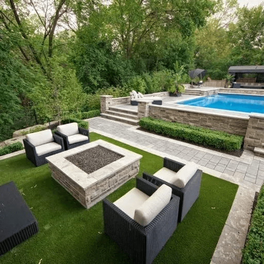 Amazing Pool Seating Ideas Which Are Very Comfortable 21