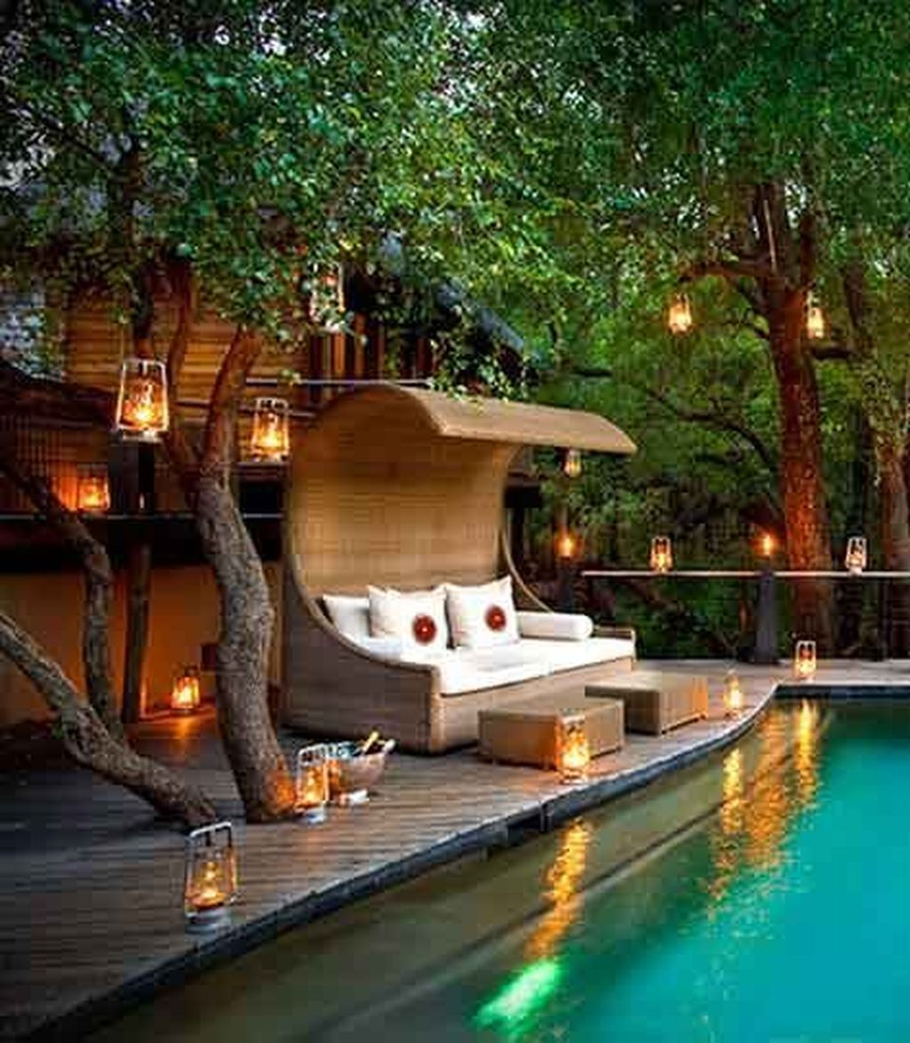 Amazing Pool Seating Ideas Which Are Very Comfortable 24