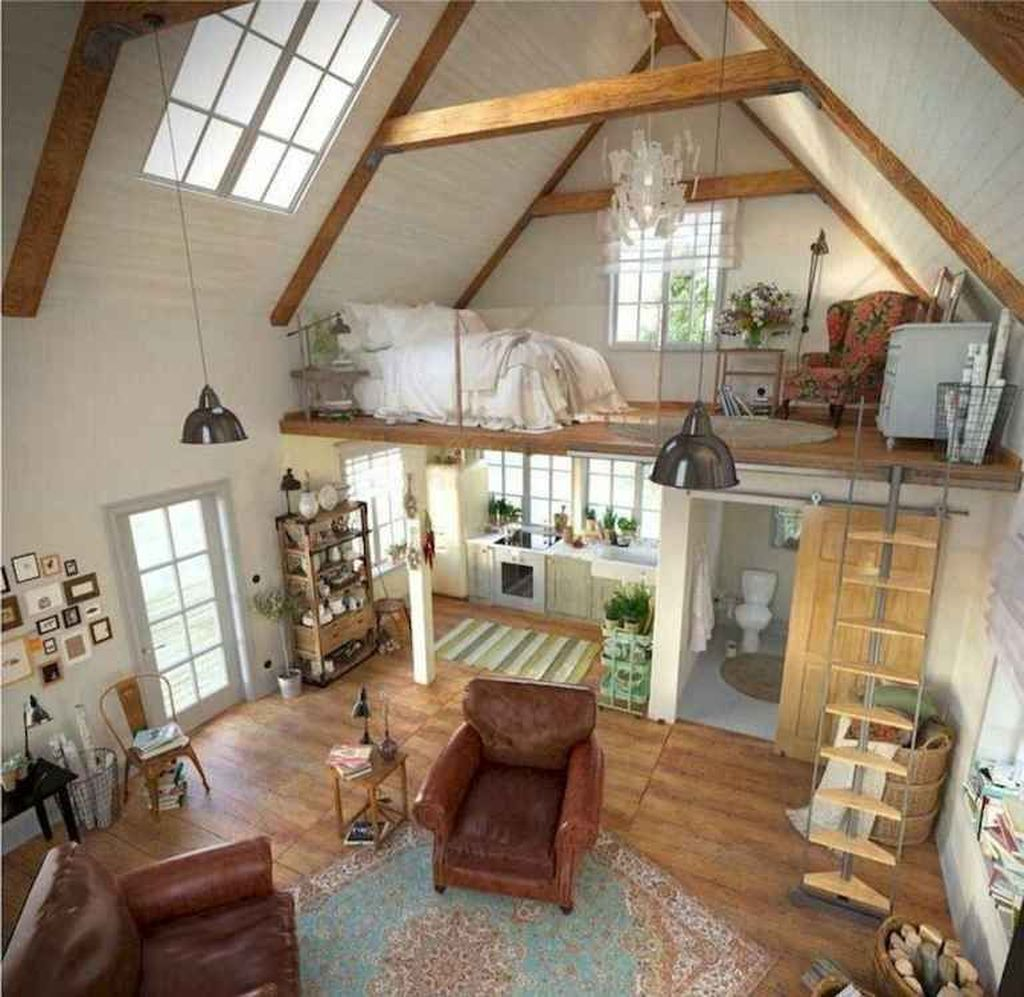 Amazing Rustic Tiny House Design Ideas 12