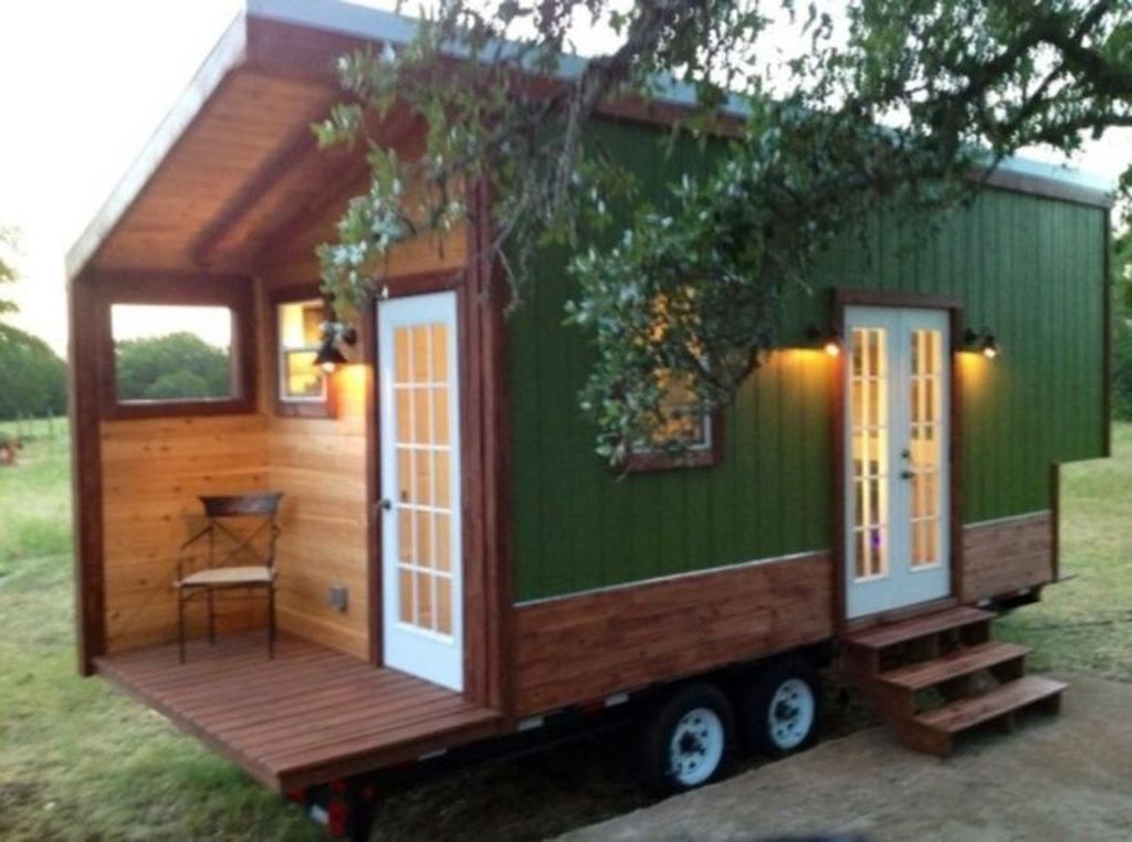 Amazing Rustic Tiny House Design Ideas 24