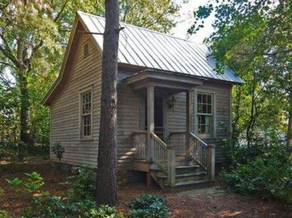 Amazing Rustic Tiny House Design Ideas 26
