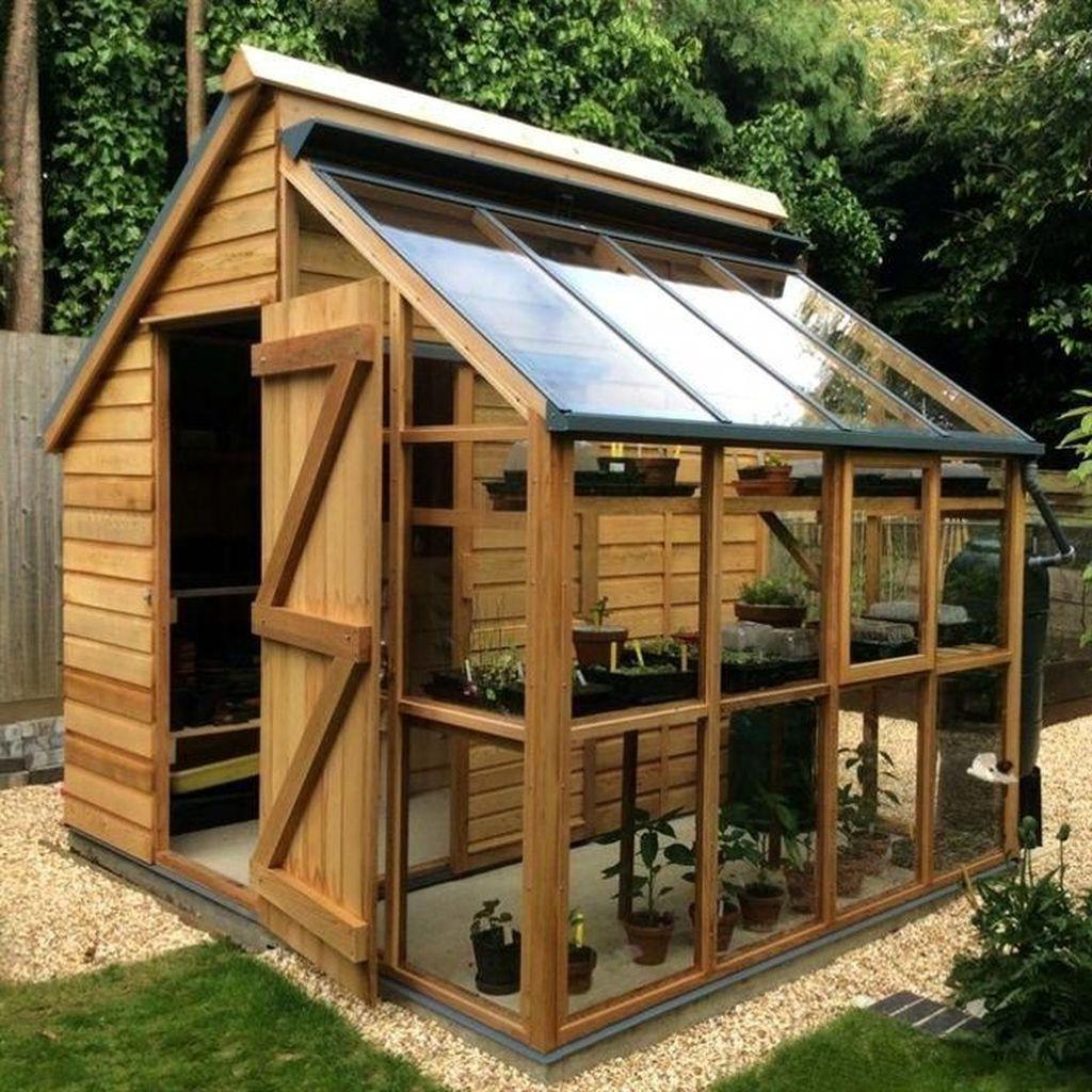 Awesome Backyard Shed Landscaping Ideas 16