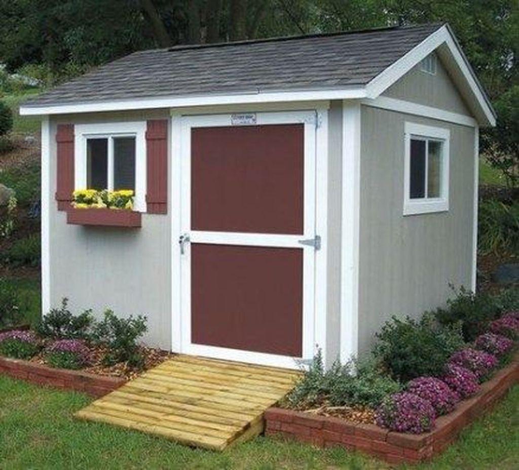 Awesome Backyard Shed Landscaping Ideas 22