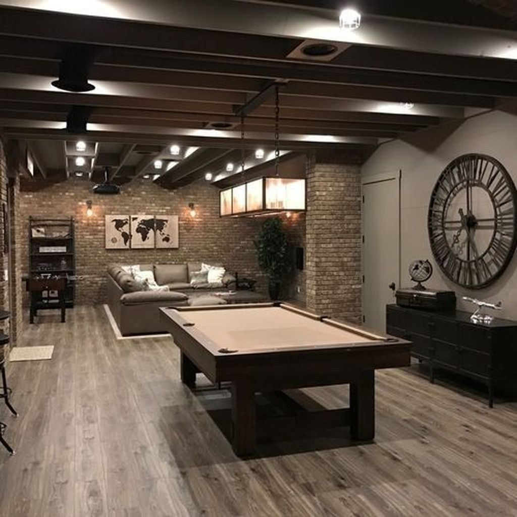 Awesome Basement Remodel Ideas That You Can Try 20