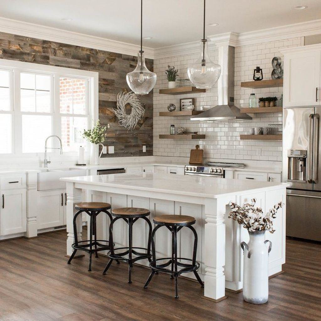 Fabulous Modern Farmhouse Kitchen Design Ideas 15
