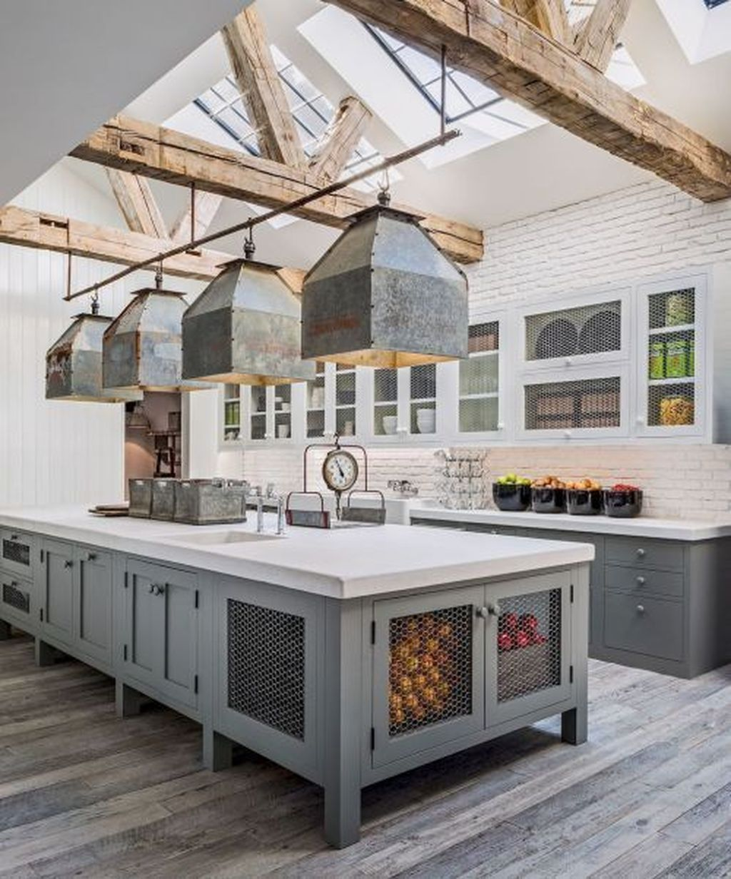 Fabulous Modern Farmhouse Kitchen Design Ideas 20