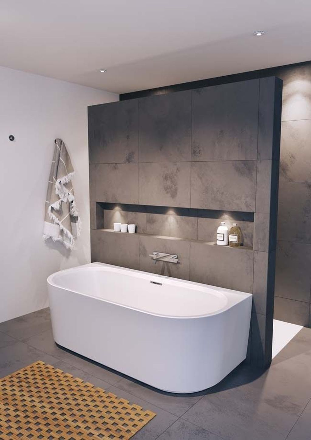 Fascinating Minimalist Bathroom Decoration Ideas 07