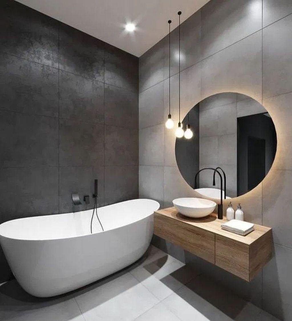 Fascinating Minimalist Bathroom Decoration Ideas 20