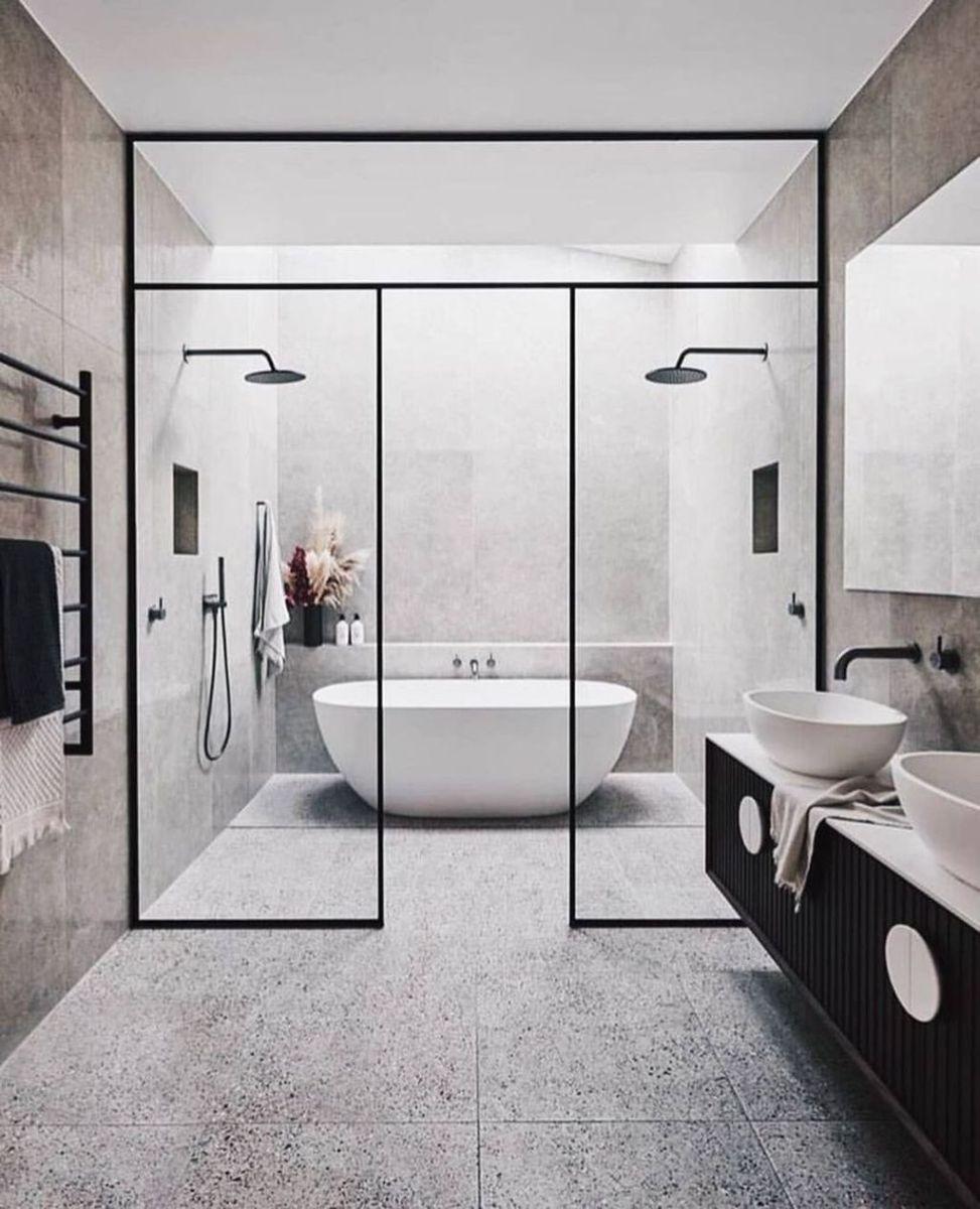 Fascinating Minimalist Bathroom Decoration Ideas 22