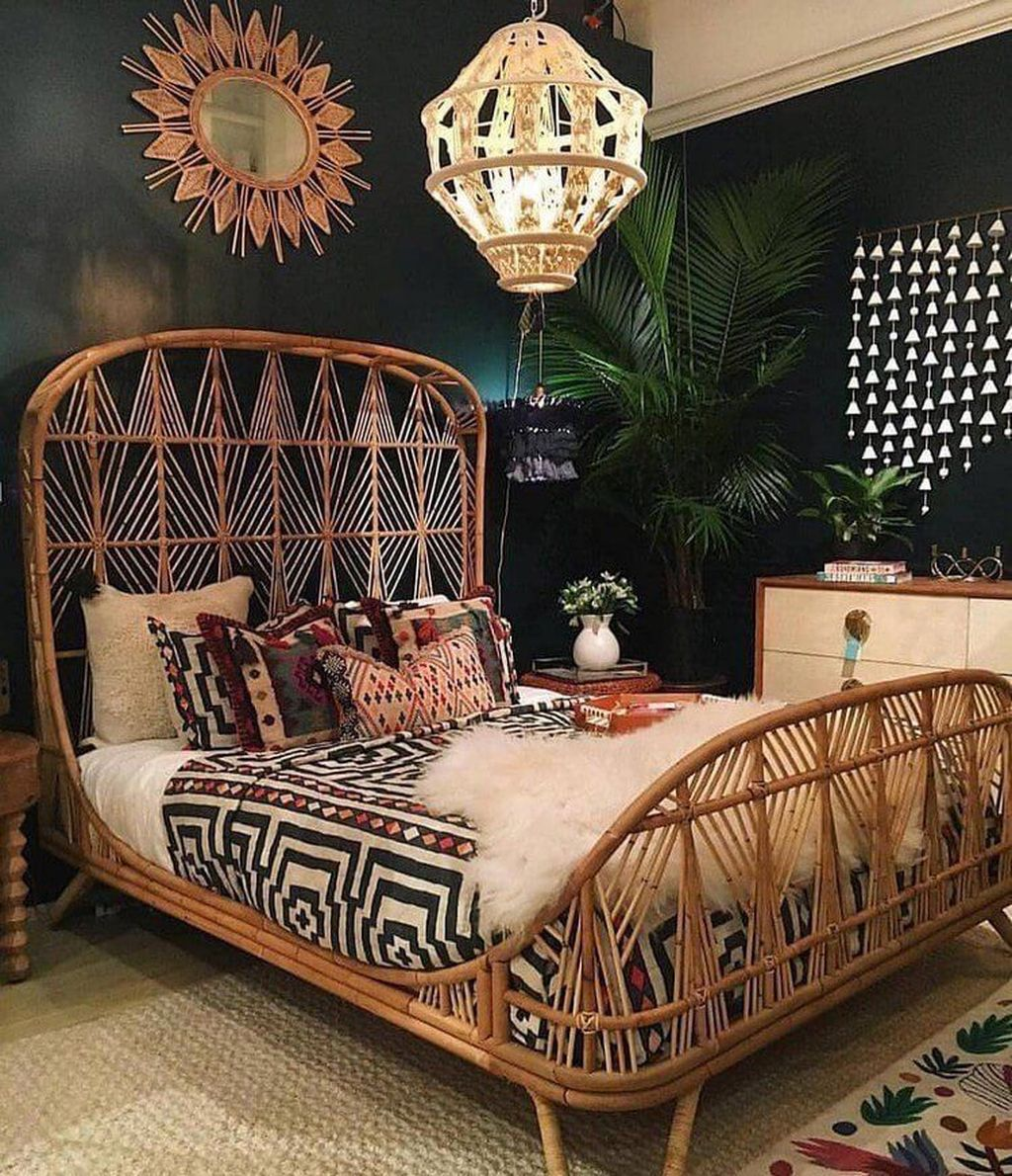 Gorgeous Bohemian Bedroom Decor Ideas You Can Try 09