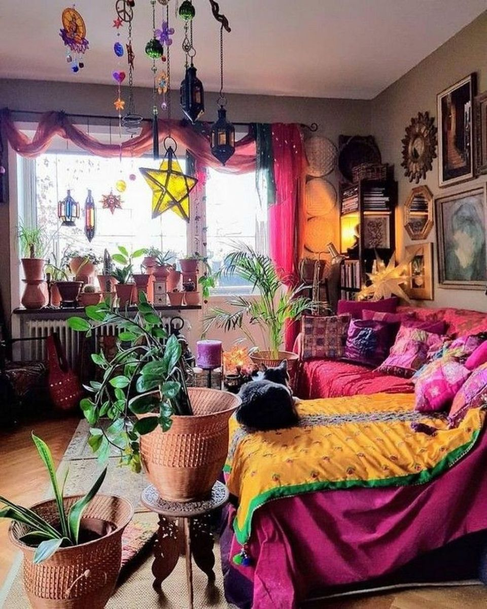 Gorgeous Bohemian Bedroom Decor Ideas You Can Try 10