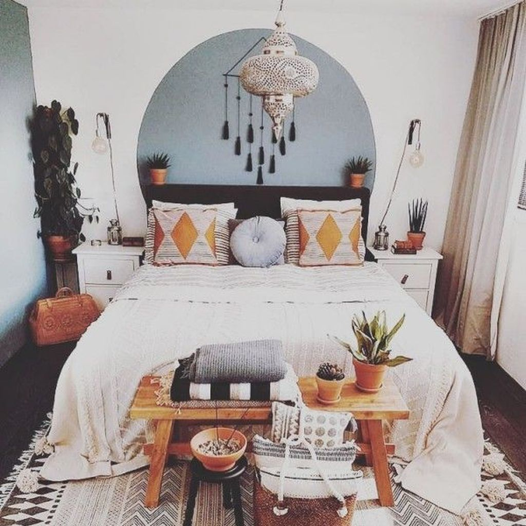 Gorgeous Bohemian Bedroom Decor Ideas You Can Try 19