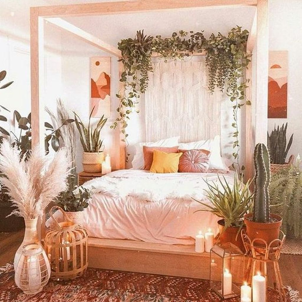 Gorgeous Bohemian Bedroom Decor Ideas You Can Try 25