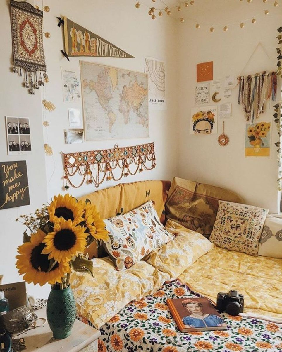 Gorgeous Bohemian Bedroom Decor Ideas You Can Try 26