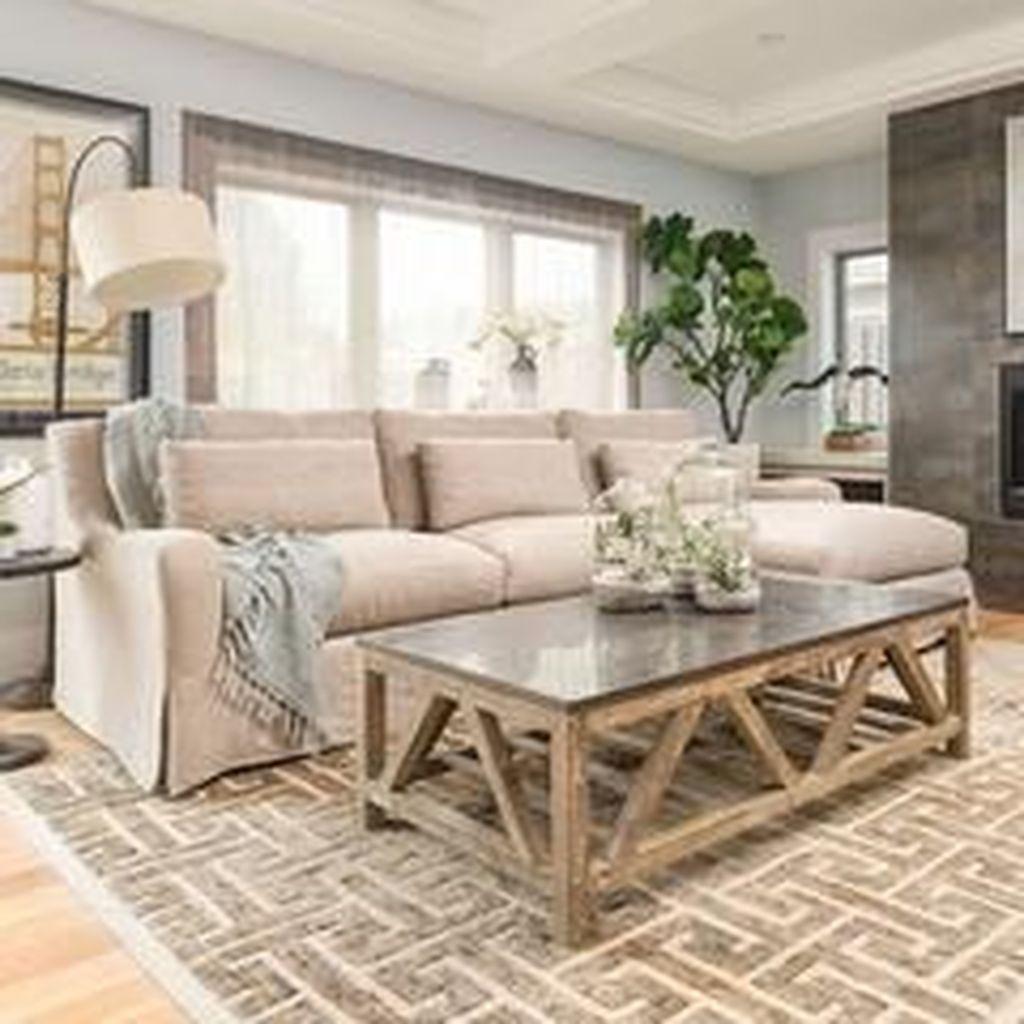 Inspiring Beachy Farmhouse Living Room Decor Ideas 06