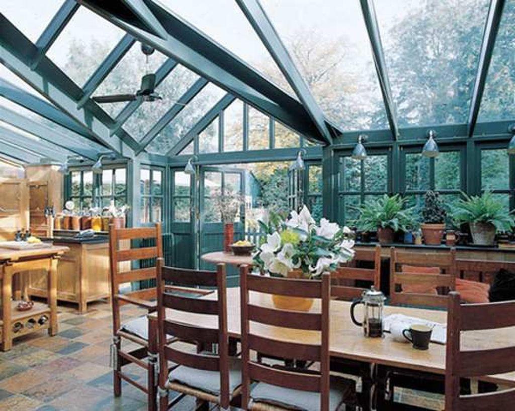 Inspiring Conservatory Kitchen Design Ideas 13