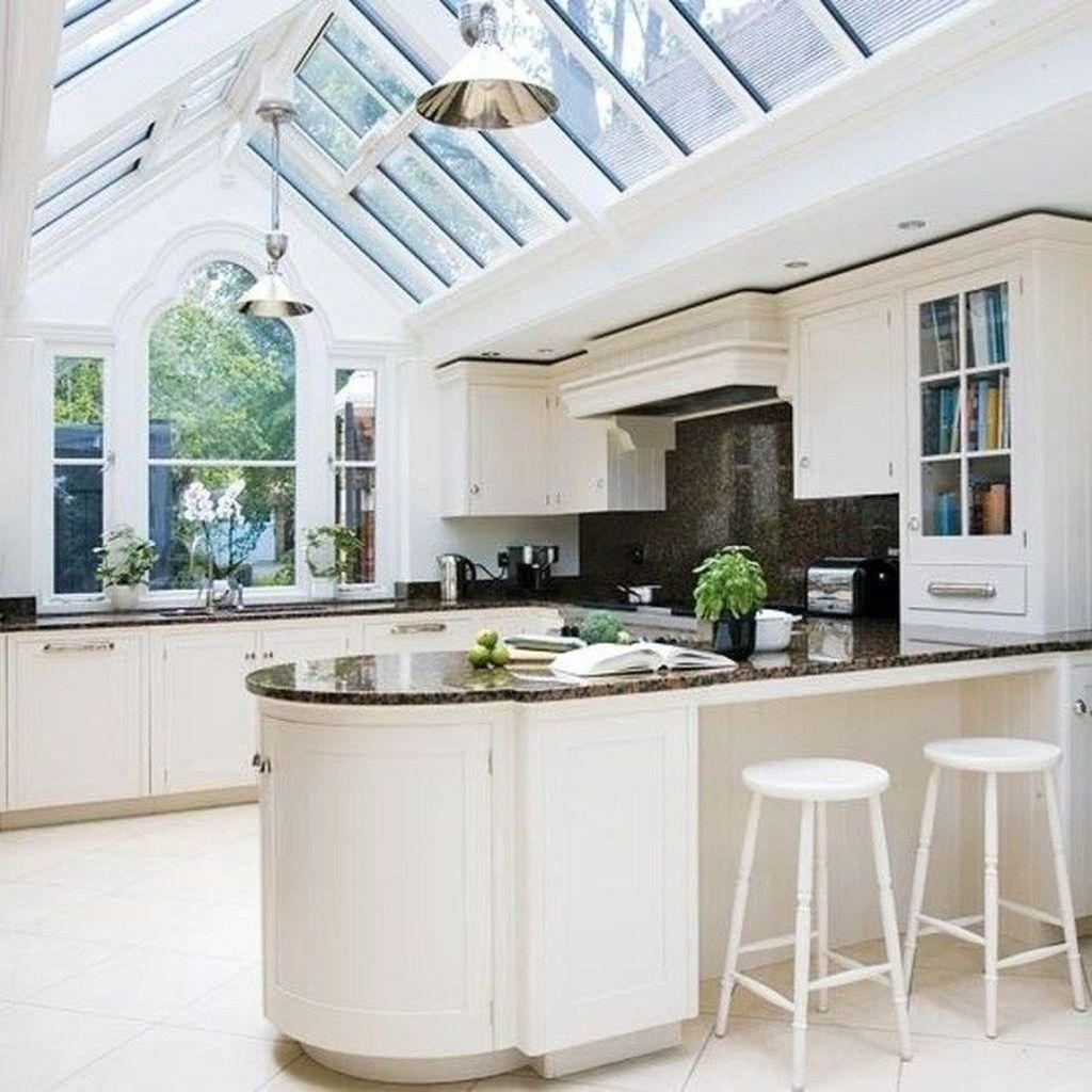 Inspiring Conservatory Kitchen Design Ideas 15