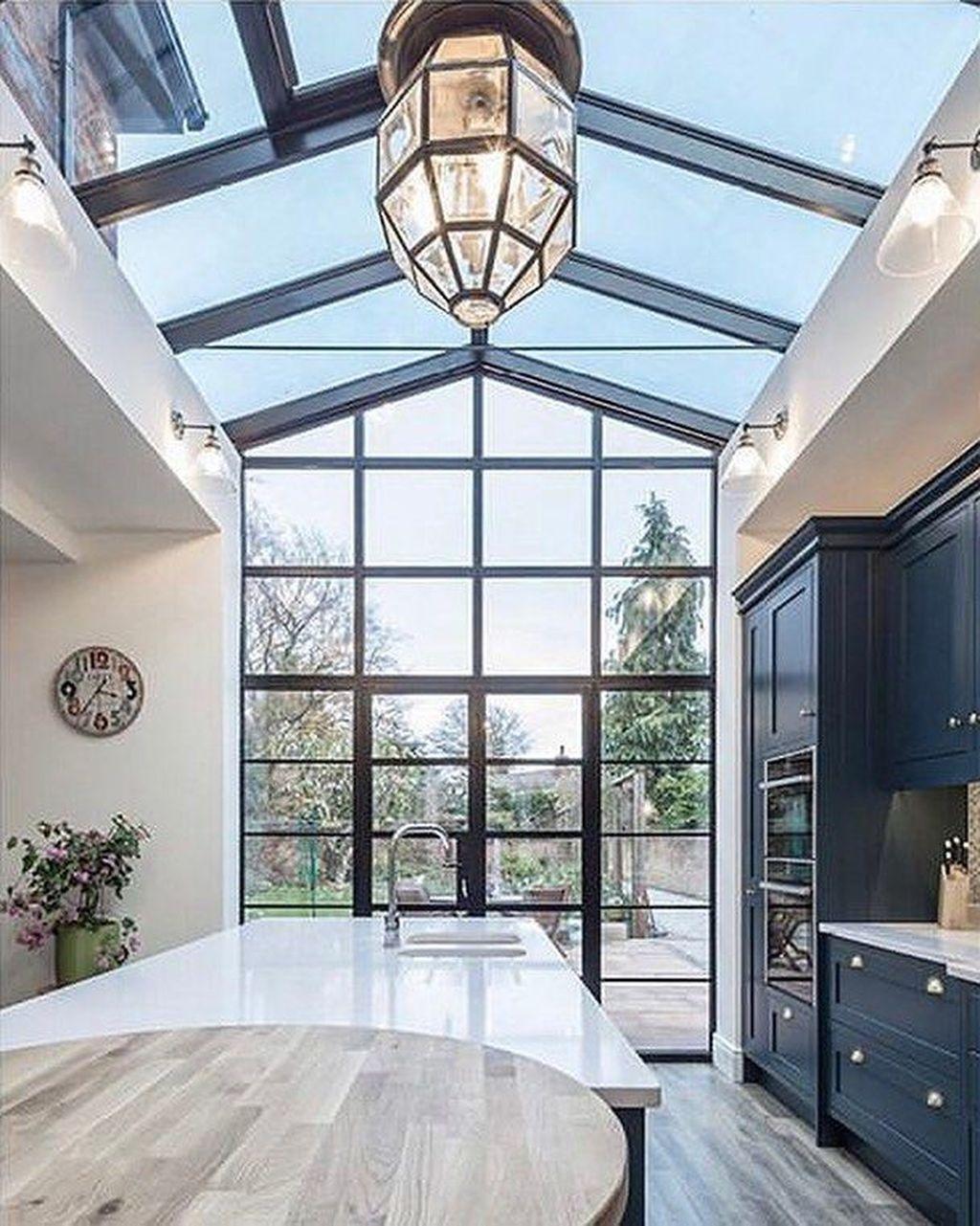 Inspiring Conservatory Kitchen Design Ideas 17