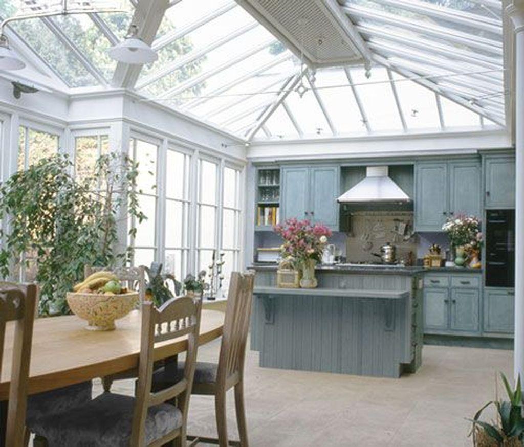 Inspiring Conservatory Kitchen Design Ideas 25