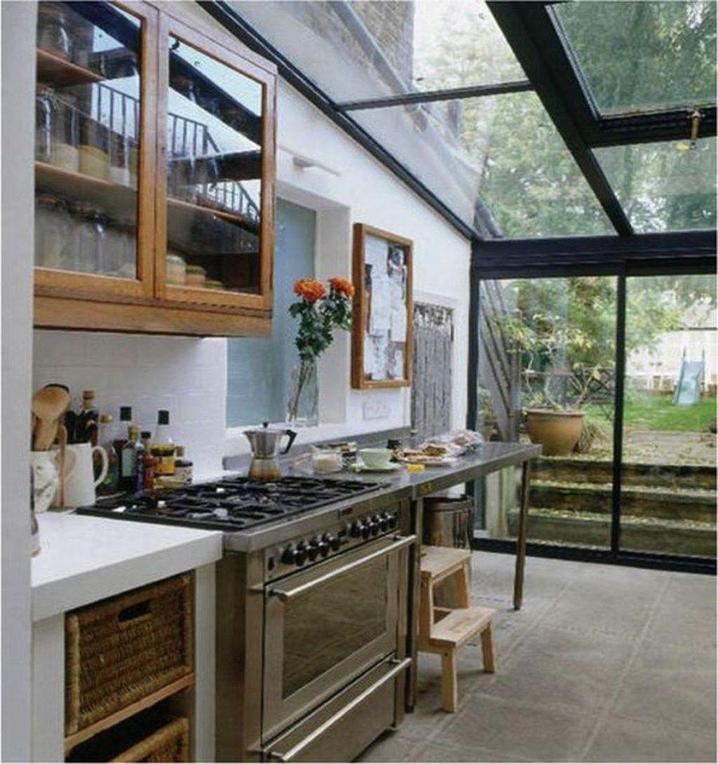 Inspiring Conservatory Kitchen Design Ideas 27