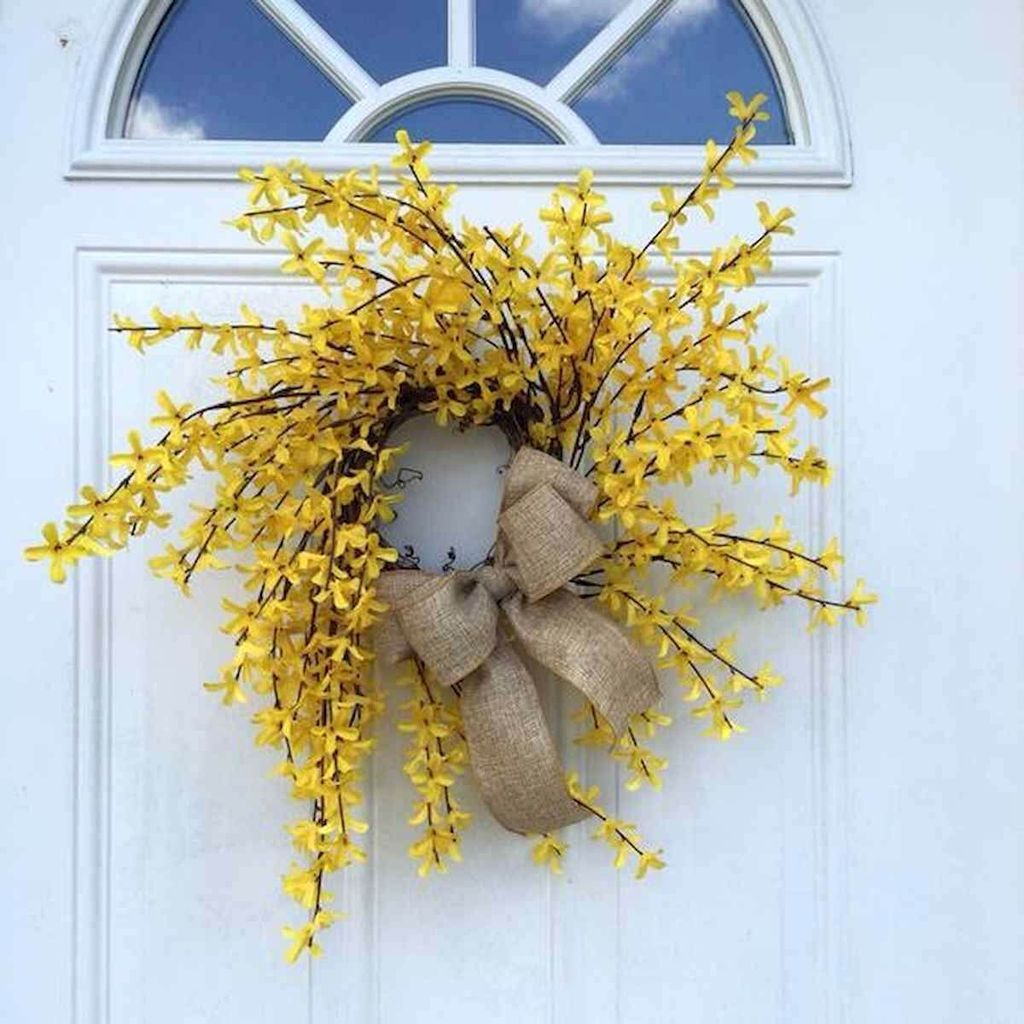 Inspiring Spring Door Wreaths For Your Home Decoration 10
