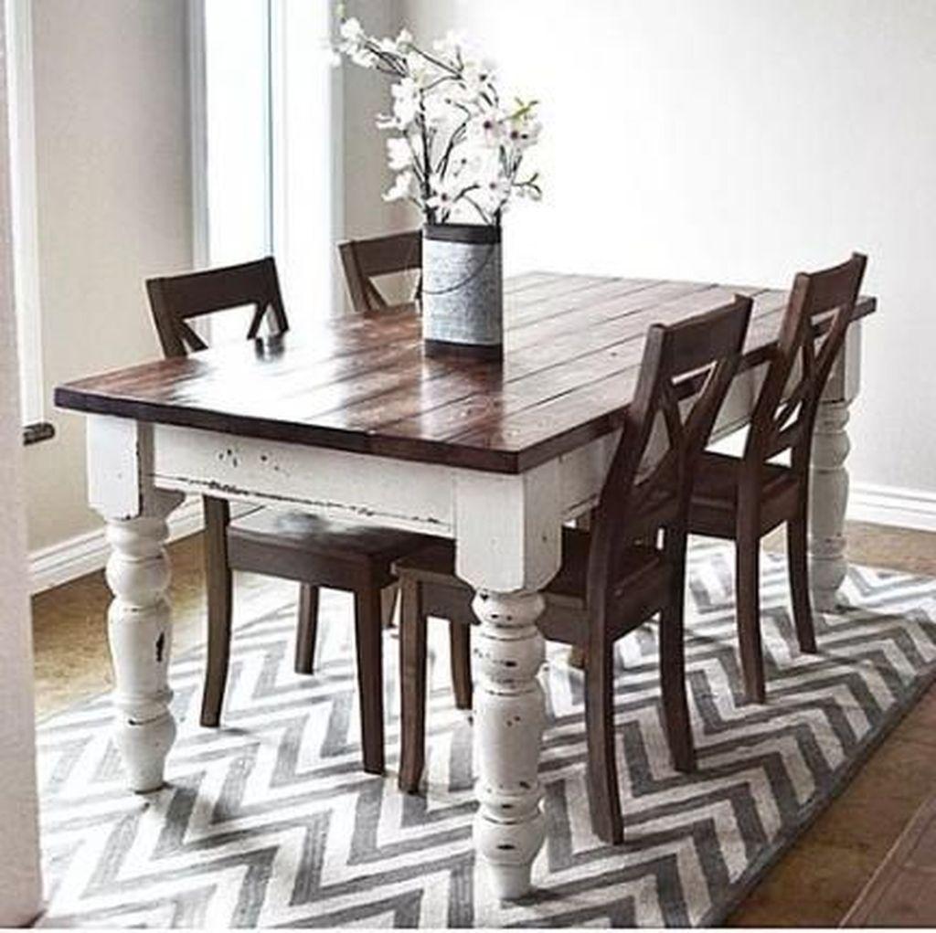 Stunning Modern Farmhouse Kitchen Table Design Ideas 16