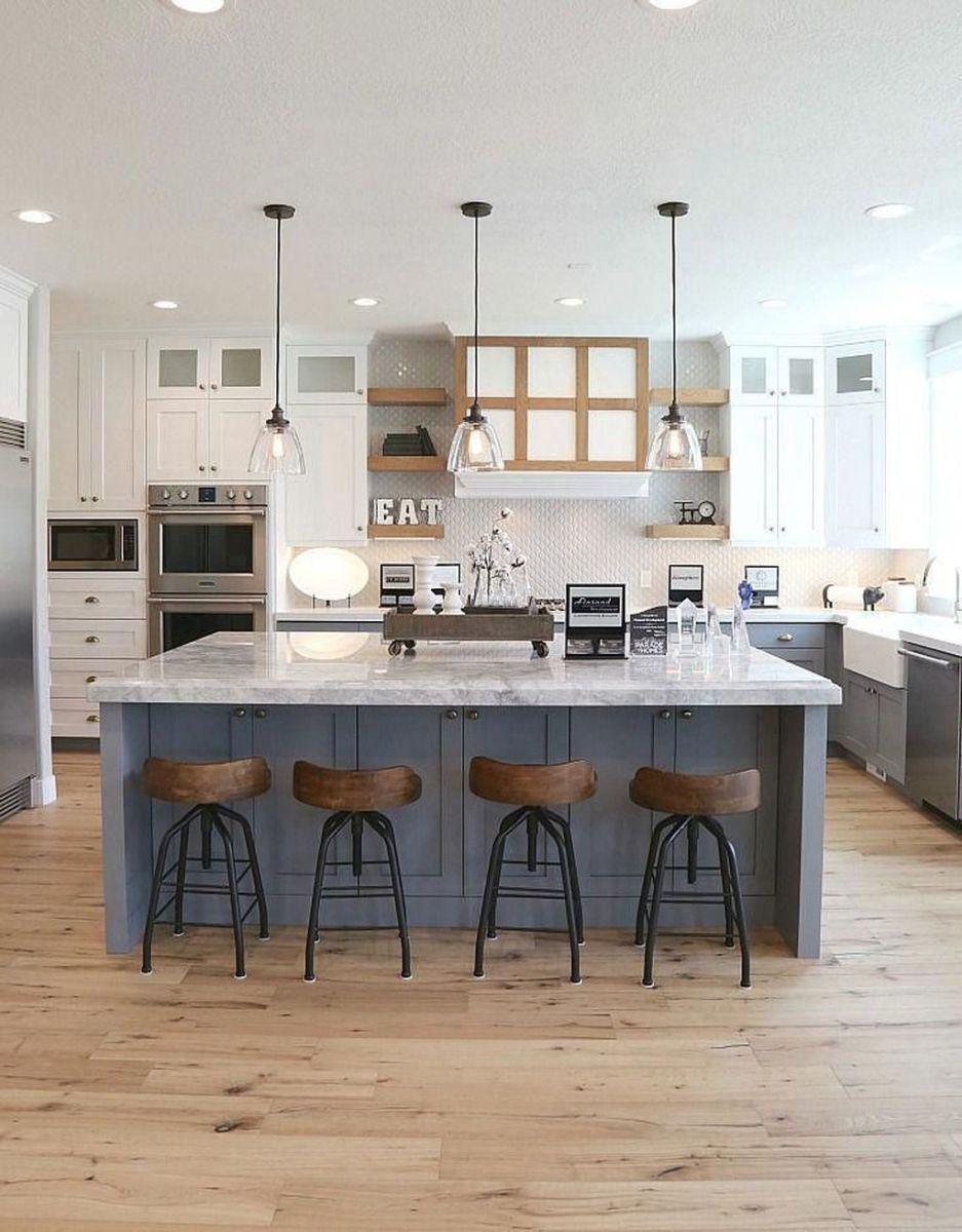 Stunning Modern Farmhouse Kitchen Table Design Ideas 17