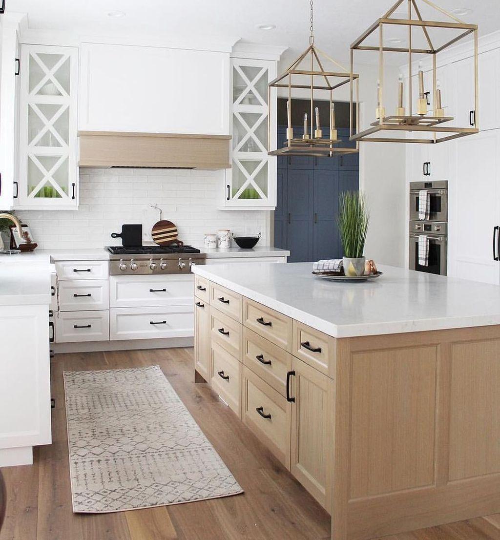 Stunning Modern Farmhouse Kitchen Table Design Ideas 18